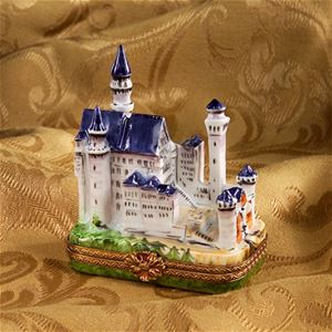 Limoges Ltd Ed Neuschwanstein Castle Box Limoges Boxes France